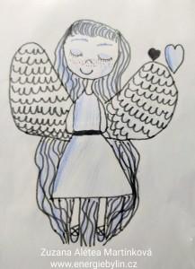 Anděl obrázek